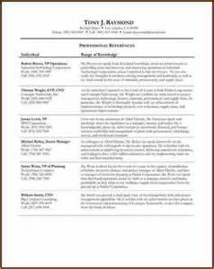 11 3 professional references exles basic