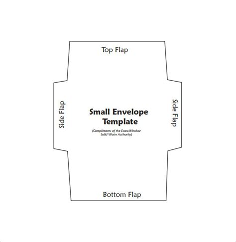 small gift card envelope template 9 small envelope sles sle templates