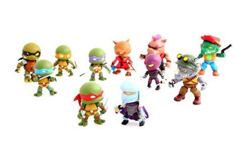 tmnt 2 figures vinyl pulse mutant turtles x the loyal