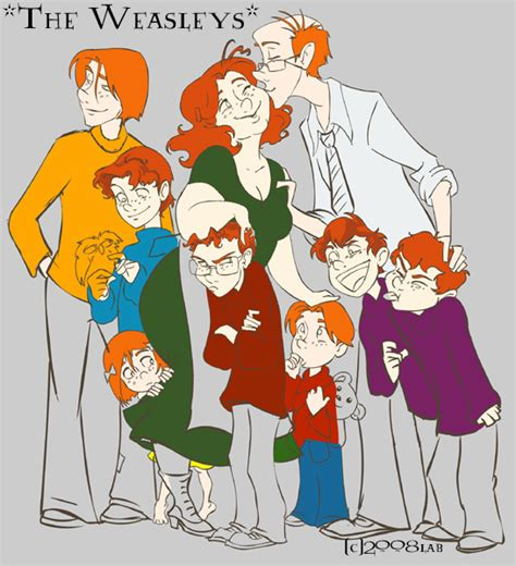 the weasley family by kendrakickz0220 on deviantart weasley in progress hp by lberghol on deviantart