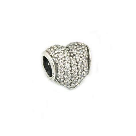 Pandora All Around With Clear Cz Charm P 788 clear cz pave charm 791052cz jewellery from hillier jewellers uk