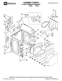 maytag bravos dryer parts diagram parts for maytag med6400tb0 dryer appliancepartspros