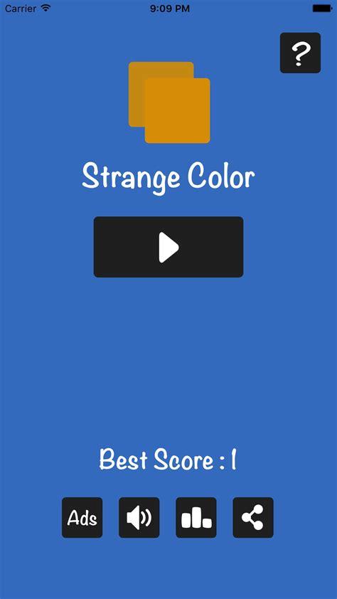 strange colors strange color ios template codester