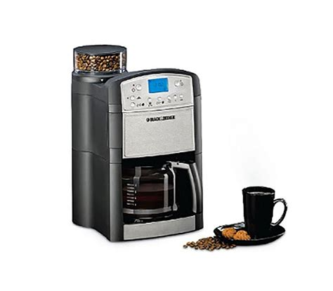 Black and Decker PRCM500 B5 Programmable Coffee Maker 220 240 Volts