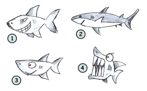 how to draw a doodle shark drawings shark ideas sketches shark doodles