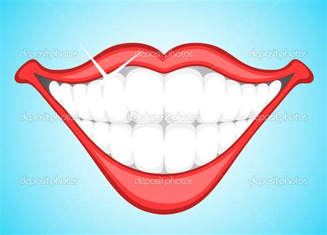 with teeth smile with teeth clipart clipart suggest