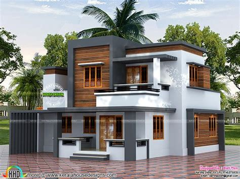 kerala home design below 20 lakhs 22 5 lakh cost estimated modern house kerala home