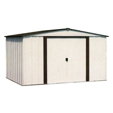 home depot 10 arrow newburgh 10 ft x 8 ft metal storage building nw108
