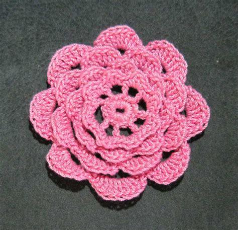 crochet pattern irish rose crochet a rose flower 33 inspiring patterns patterns hub