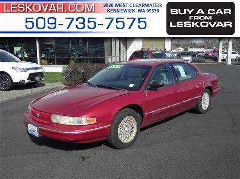 how cars run 1995 chrysler lhs regenerative braking chrysler lhs cars for sale