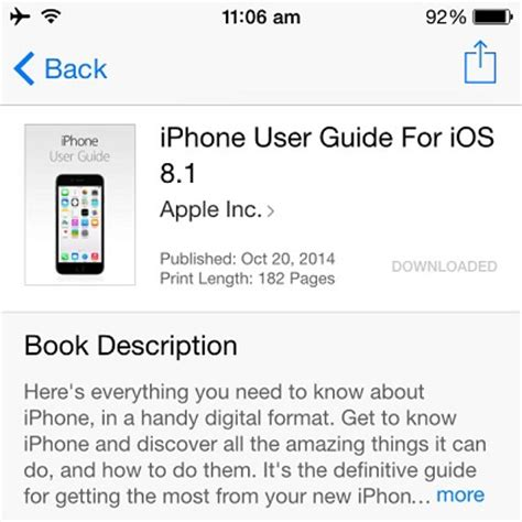 iphone user guide the iphone and ios 8 1 user guide iphonetricks org