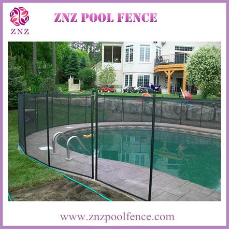 diy mesh pool fence znz welcome oem odm portable portable mesh invisible