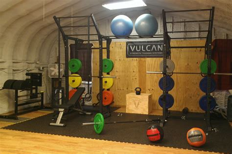 photos of vulcan strength crossfit equipment equipped gyms