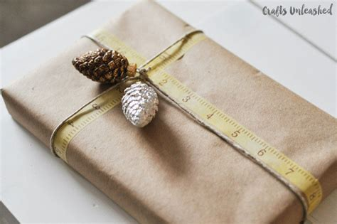 Craft Paper Gift Wrap - gift wrapping ideas 6 ways to use kraft paper