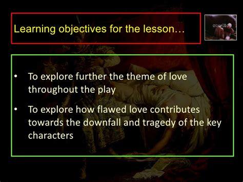 othello themes of love othello rol