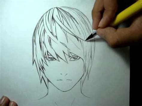 Drawing G Pen by Tutorial G Pen Light Yagami