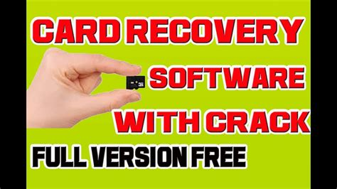 card recovery full version software free download card recovery software key v6 10 free download youtube