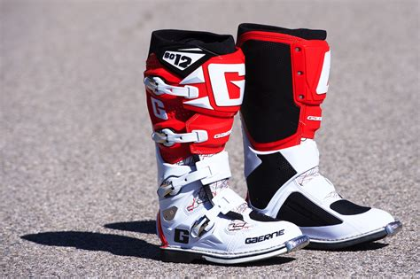 motocross boots for gaerne sg 12 boots review serious road motorcycle