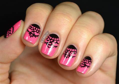easy nail art lace simple lace nail designs www pixshark com images