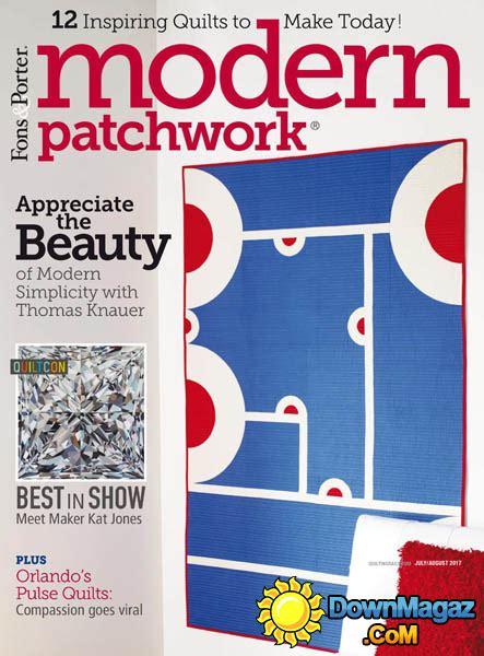 Modern Patchwork Magazine - modern patchwork 07 08 2017 187 pdf magazines