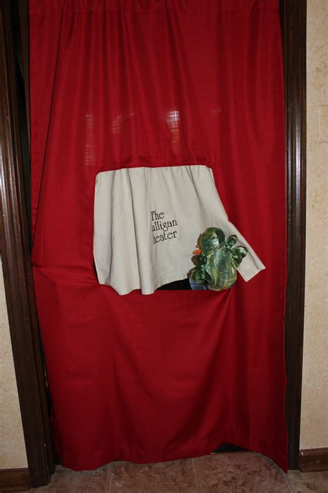 puppet theater curtain puppet stage curtain fabric window curtains drapes