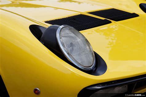 lamborghini headlights miura p400 sv p400sv34 hr image at lambocars com