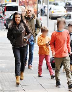 Before the split susanna reid with her former partner dominic cotton