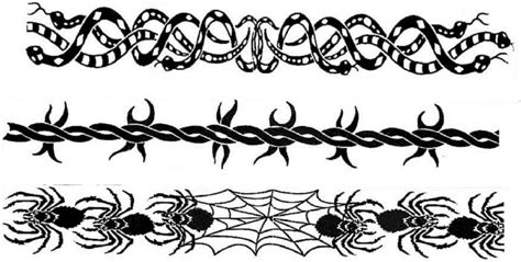 Barbed Wire Tattoo Images Designs Tribal Barb Wire Designs