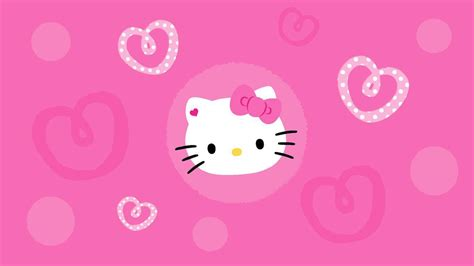 wallpaper hello kitty pink hitam wallpapers hello kitty pink wallpaper cave