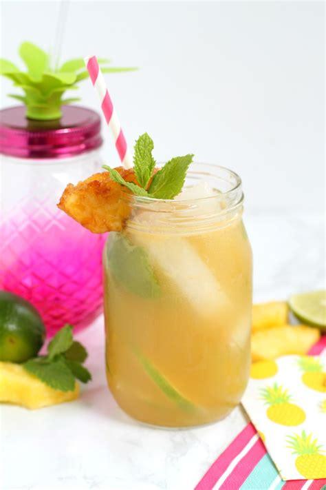 pineapple mojito recipe pineapple mojito with spiced rum