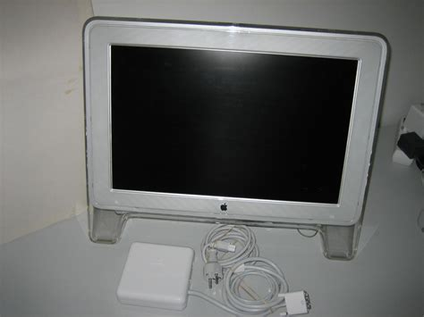 Monitor Lcd Apple apple cinema display 20 lcd monitor grafika