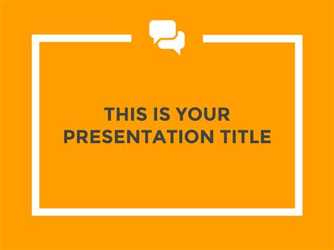 Free Presentation Template Professional And Lively Like Template