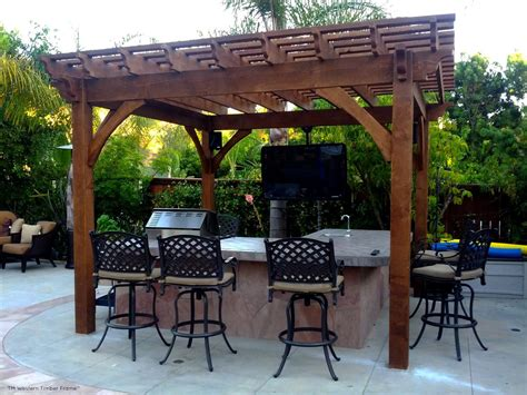 gazebo tv 9 outdoor tv theater living areas western timber frame