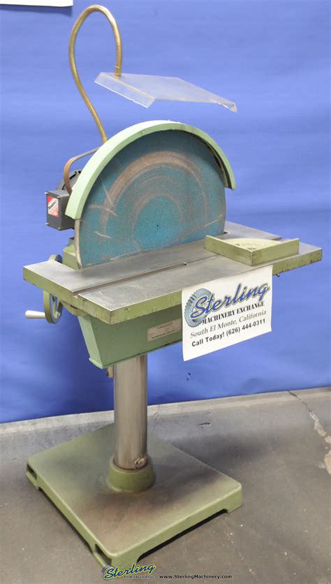 bench sander for sale 20 quot used conquest disc sander mdl 20arch table