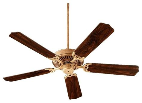 quorum iv ceiling fan with light 52 quot traditional