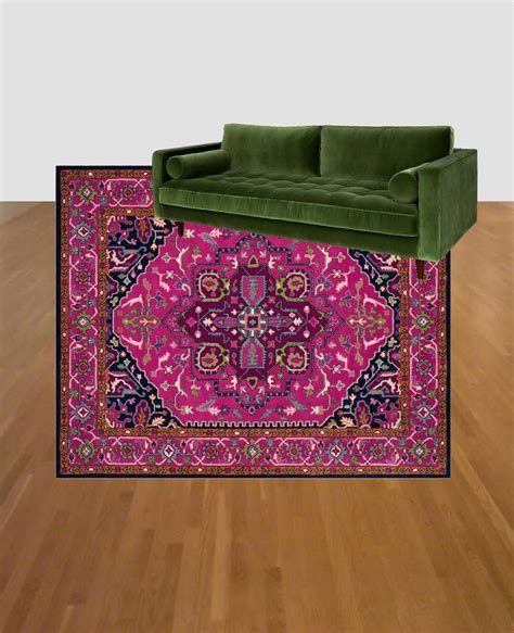 colorful living room rugs colorful living room refresh green couch and pink rug