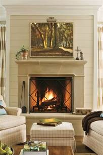 decorating above fireplace mantel 25 cozy ideas for fireplace mantels southern living
