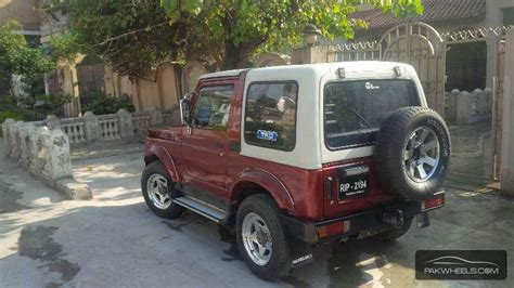 Open Jeep For Sale In Pakistan Suzuki Sj410 1988 For Sale In Islamabad Pakwheels