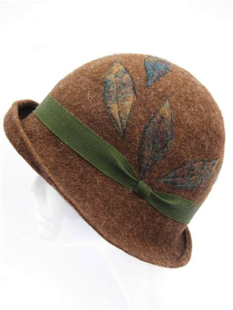 Handmade Felt Hats - pin by kathy perry on hats of course