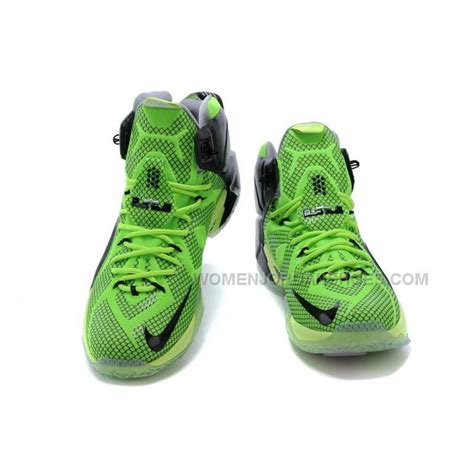 lebron basketball shoes cheap nike lebron 12 green black basketball shoes on sale