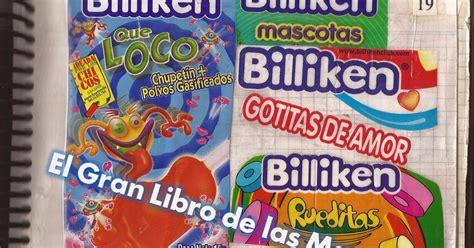 gomitas billiken yogur el gran libro de las marcas billiken everywhere