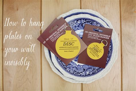 how to hang plates on the wall hanging plates on the wall invisibly diana elizabeth