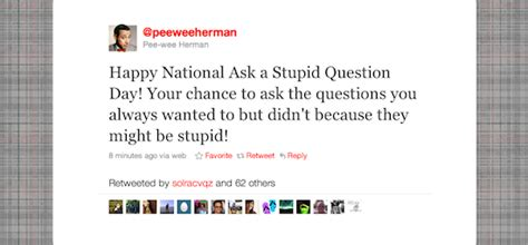 Ask A Stupid Question Ask A 2 by It S National Ask A Stupid Question Day The Sue