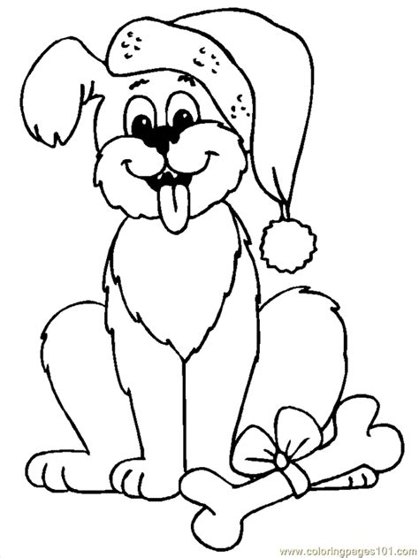 free christmas animal coloring sheets search results