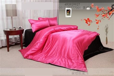 hot pink king size comforter hot pink black silk satin bedding set king size queen