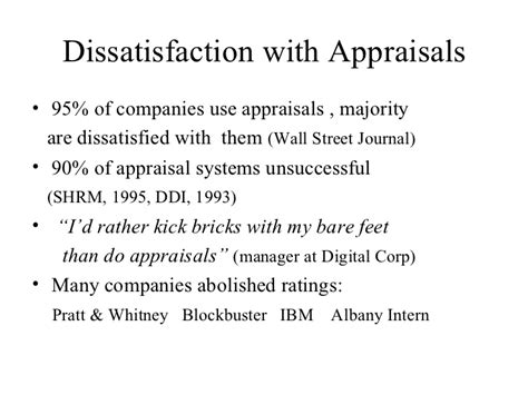 Performance Appraisal Dissatisfaction Letter performance management