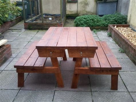 picnic table bench combo picnic table two bench combination for sale in ballina