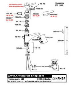 hansa wasserhahn ersatzteile ersatzteile f 252 r hansa armaturen im armaturen shop