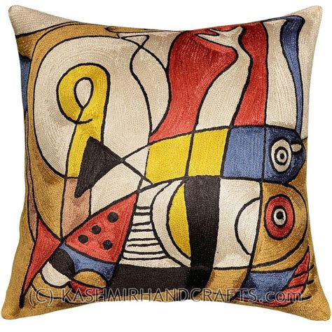 Decorative Pillows Fish Silk Cushion Throw Pillow Covers Modern Decorative Pillows For Sofa