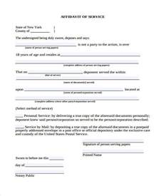 personal affidavit template sle personal affidavit forms 7 free documents in